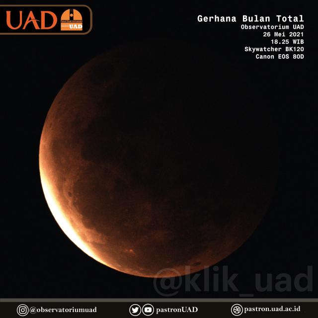 Observatorium UAD: Supermoon dan Gerhana Bulan Total (4748)