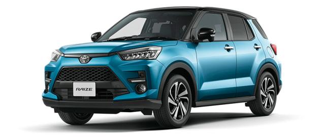 Ini Harga dan Spesifikasi Mobil SUV Pendatang Baru Toyota Raize (574472)