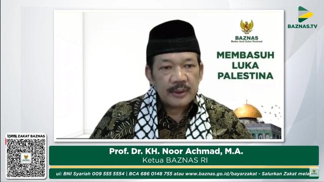 BAZNAS Galang Donasi Kemanusiaan untuk Palestina (20348)