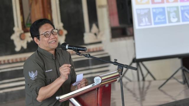 Mendes Sambangi Tabanan Bali, Bicara soal BUMDes Kunci Pemulihan Ekonomi (340154)