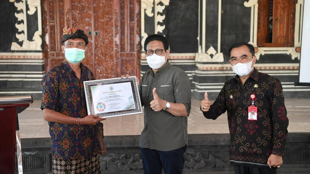Mendes Sambangi Tabanan Bali, Bicara soal BUMDes Kunci Pemulihan Ekonomi (340151)