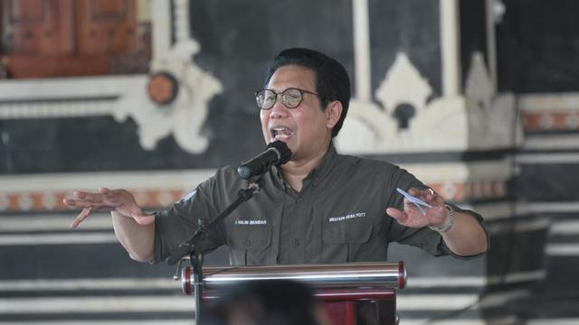 Mendes Sambangi Tabanan Bali, Bicara soal BUMDes Kunci Pemulihan Ekonomi (340152)