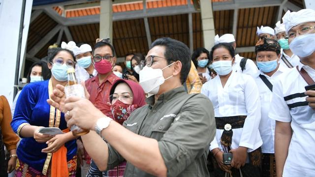 Mendes Sambangi Tabanan Bali, Bicara soal BUMDes Kunci Pemulihan Ekonomi (340155)