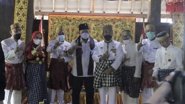 Berkunjung ke Mamuju, La Nyalla Agendakan Pertemuan Raja dan Sultan Se-Nusantara (30492)