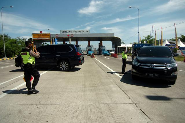 Bertambah, Ini Gerbang Tol di Sumatera dan Jawa yang Disekat Saat PPKM Darurat (46190)