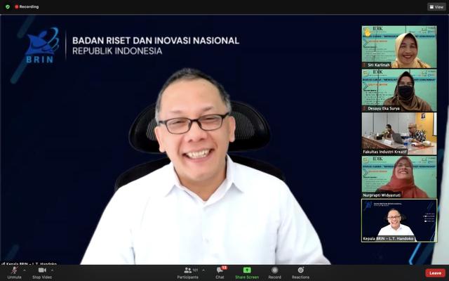 IDIK UNPAD: Kepala BRIN Ajak Riset Komunikasi Masyarakat di Era Industry 5.0 (204627)
