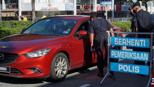Kasus Harian Corona di Atas 5 Ribu, Malaysia Perpanjang Lockdown hingga 28 Juni (22122)