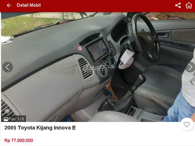 Berburu Toyota Innova Bekas Rp 70 Jutaan, Ini Spesifikasi dan Fiturnya (47472)
