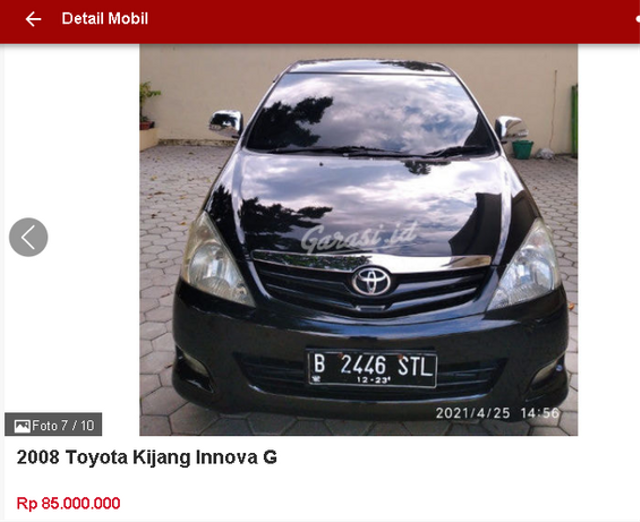Berburu Toyota Innova Bekas Rp 70 Jutaan, Ini Spesifikasi dan Fiturnya (47473)