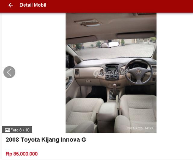Berburu Toyota Innova Bekas Rp 70 Jutaan, Ini Spesifikasi dan Fiturnya (47474)