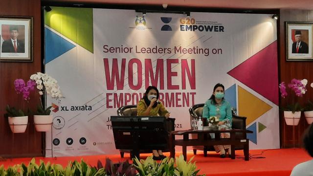 Kemen PPPA Ajak Perusahaan Tingkatkan Jumlah Pimpinan Perempuan (25469)