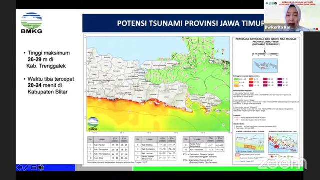 Daftar Wilayah di Jatim yang Berpotensi Diterjang Tsunami hingga 29 Meter (1)