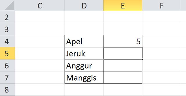 Rumus Excel Menghitung Jumlah Data yang Sama (52626)
