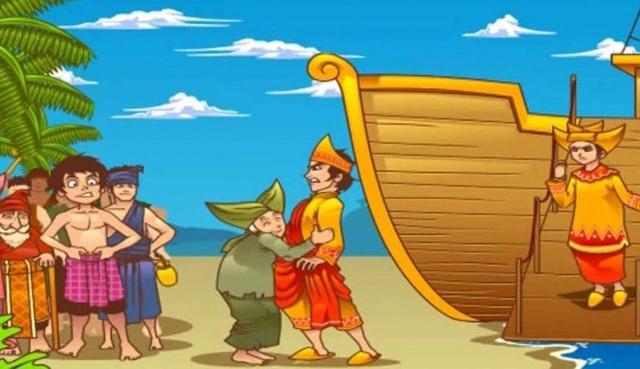 """Cerita Dongeng Pendek """"Malin Kundang"""" (104832)"""