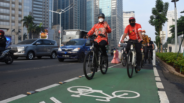 Anies saat Disingggung soal Polemik Jalur Sepeda: Kami Sedang Fokus Corona (28103)