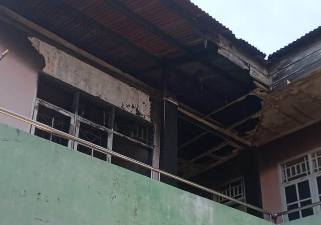 Kondisi Asrama Mahasiswa Maluku Utara di Makassar Usai Terbakar (125542)