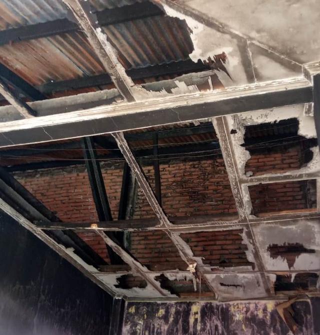 Kondisi Asrama Mahasiswa Maluku Utara di Makassar Usai Terbakar (125543)
