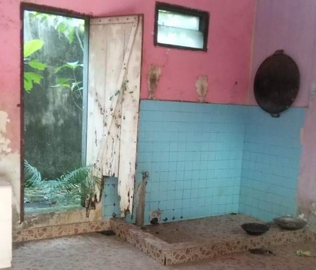 Kondisi Asrama Mahasiswa Maluku Utara di Makassar Usai Terbakar (125544)