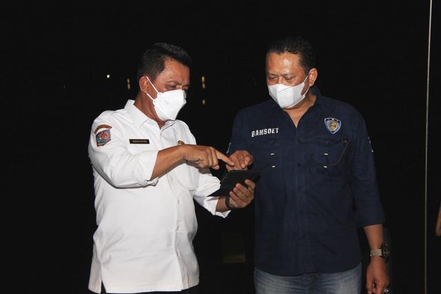 Gubernur Ansar Bersama Ketua MPR Bahas Investasi dan Pembangunan di Kepri (254122)