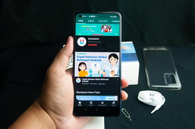 Review Oppo A74 4G: HP Rp 3 Jutaan Layar AMOLED dan Baterai Awet (277240)