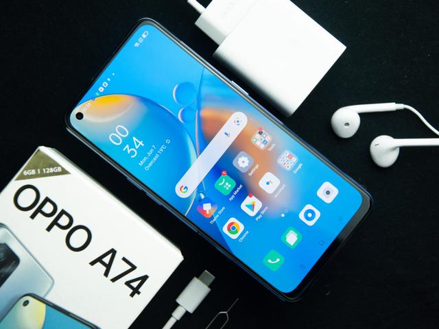Review Oppo A74 4G: HP Rp 3 Jutaan Layar AMOLED dan Baterai Awet (277238)