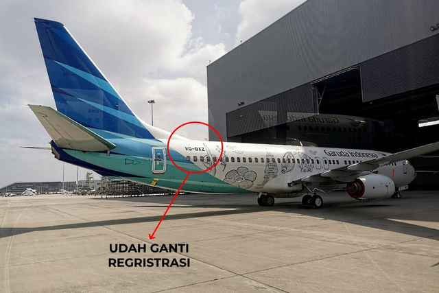 Penerbangan Sepi, Garuda Indonesia Percepat Pengembalian 2 Pesawat ke Lessor (6588)