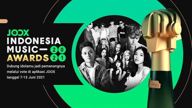 JOOX Gelar Indonesia Music Awards 2021, Pemenang Ditentukan Voting Penggemar (2654)