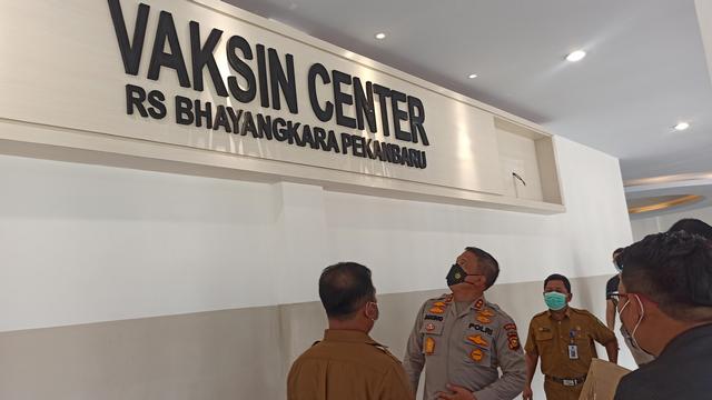 Bekas Mapolda Riau jadi Rumah Sakit, Kapolda: Kita Dirikan Vaksin Center (330340)