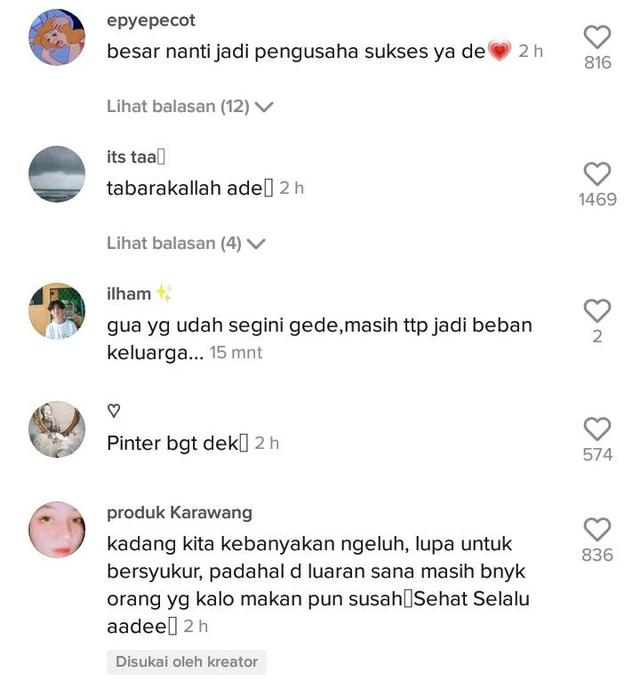 Viral Momen Bocah Laki-Laki Bantu Ibunya Jualan, Bikin Salut (202773)