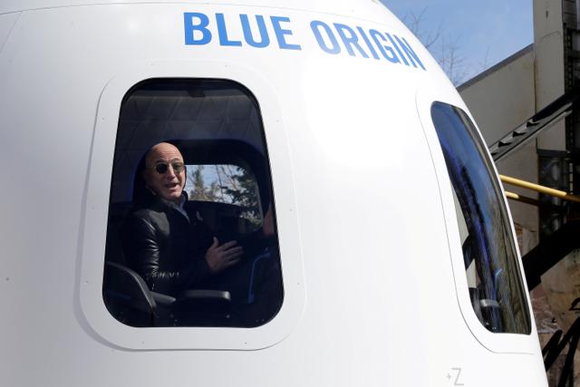 Laris Manis, Tiket Wisata Luar Angkasa Milik Jeff Bezos Terjual Rp 1,4 Triliun (23558)