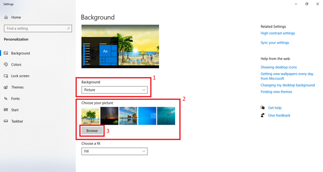 Cara Mengganti Wallpaper Laptop Windows 10 (452053)