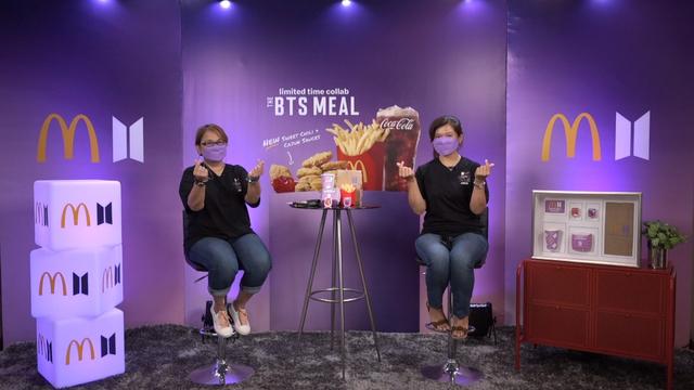 McDonald's Berlakukan Sistem Buka Tutup Order BTS Meal, Makanan Tersedia Sebulan (31183)