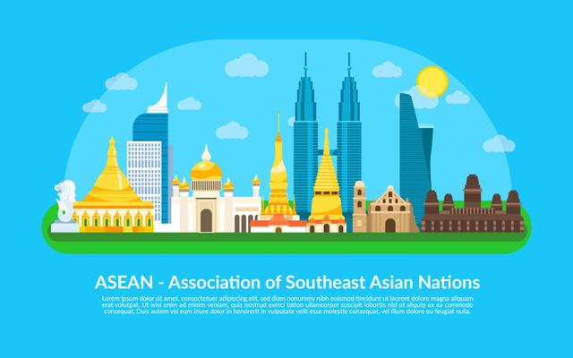 Tata Letak Geografis ASEAN (320569)