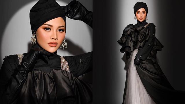 Aurel Hermansyah Tampil Glamor dengan Busana Serba Hitam, Begini Potretnya (26397)