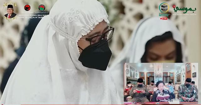 Mega, Puan, hingga BG Peringati Sewindu Wafatnya Taufiq Kiemas (567015)
