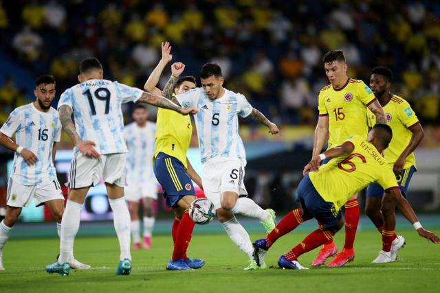 5 Pemain Argentina dengan Rating Tertinggi saat Tekuk Kolombia (1)
