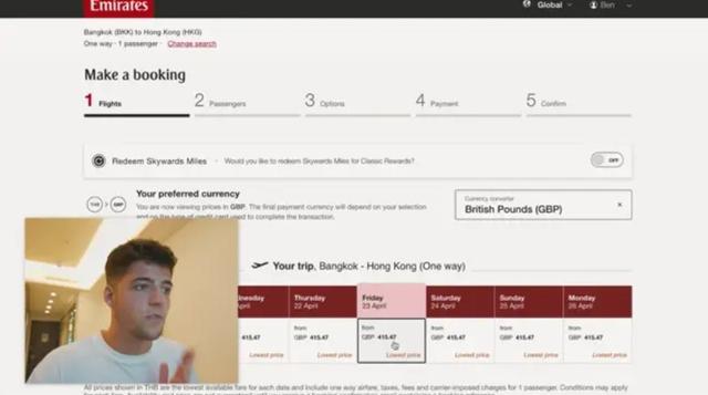 Cerita YouTuber Naik First Class Tersingkat di Dunia, Bayarnya Cuma Rp 1 Juta (35868)