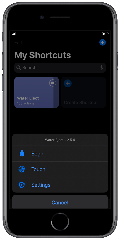 Water Ejection Shortcut: Bisa Mengeluarkan Air di iPhone (24626)