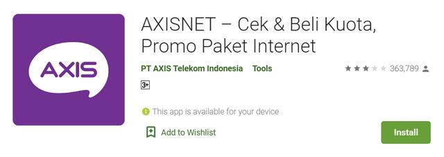 Cek Kuota Axis, Internetan Jadi Lancar! (30851)