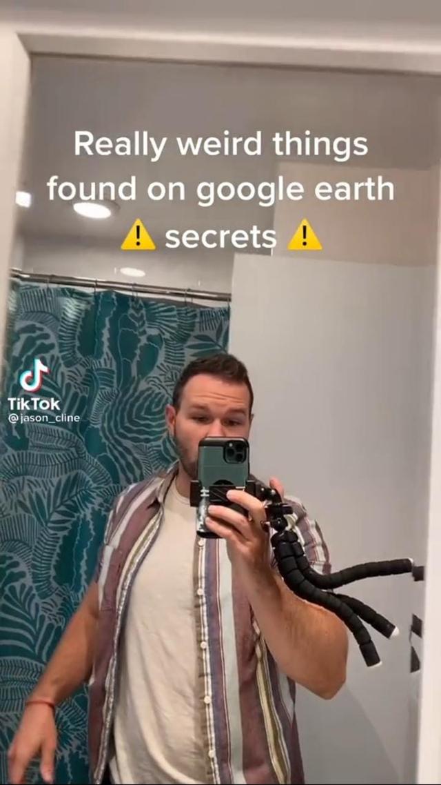 Ngeri, Pria Ini Temukan Penampakan Sosok Misterius di Google Earth (170608)