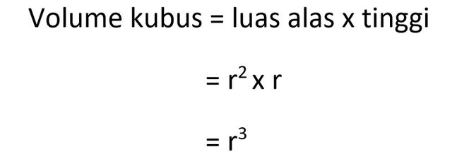 Rumus Rusuk Kubus (Volume dan Luas Permukaan) (34815)