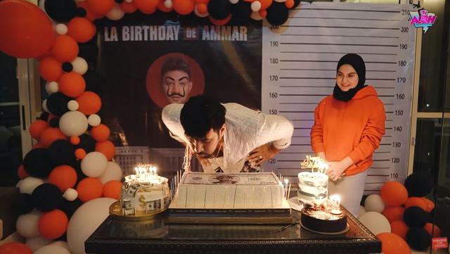 8 Momen Kejutan Ulang Tahun Ke-28 Ammar Zoni, Ada Drama Penculikan (20246)