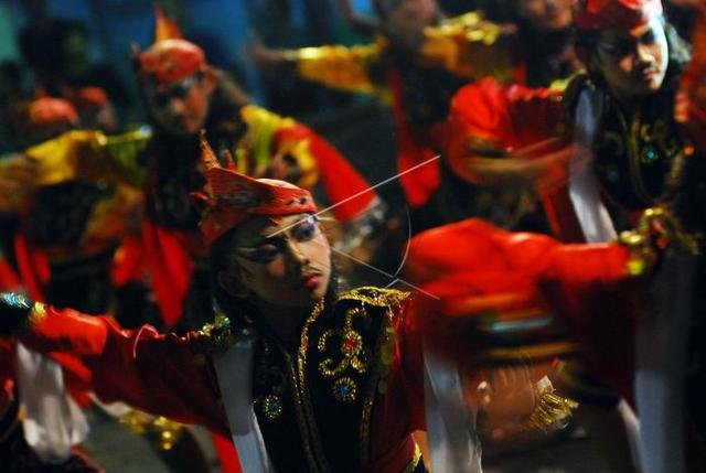 Gerakan Tari Remo, Lambang Pangeran Gagah Berani (39973)