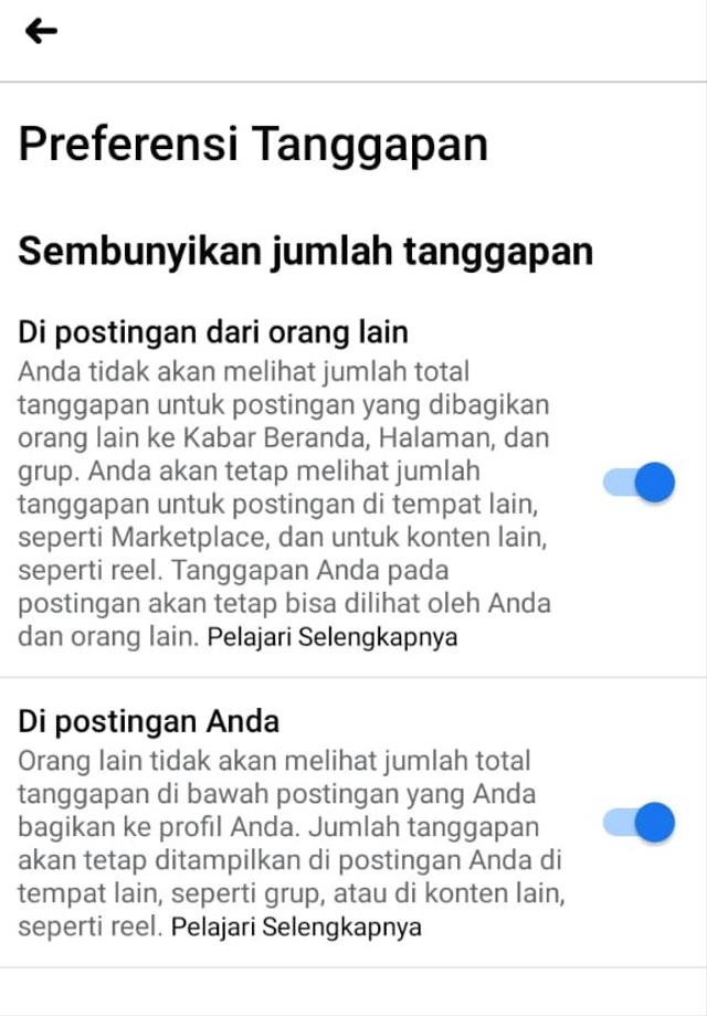 Cara Menyembunyikan Jumlah Like di Instagram dan Facebook (23585)