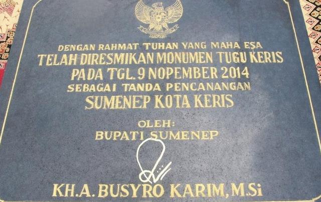 Opini: Quo Vadis Sumenep sebagai Kota Keris Indonesia? (49846)