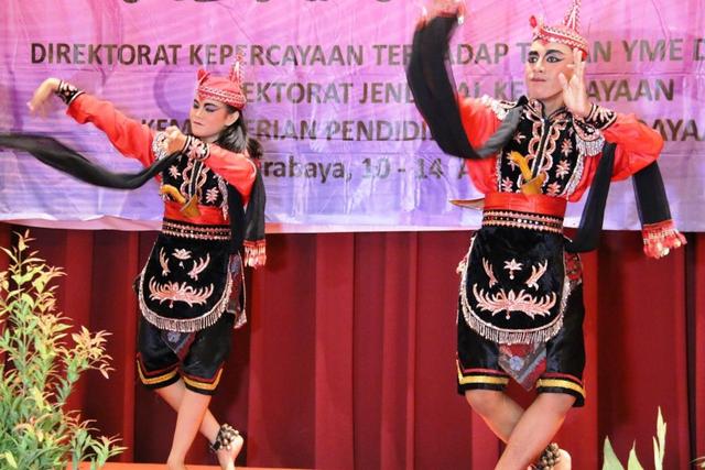 Gerakan Tari Remo, Lambang Pangeran Gagah Berani (39974)