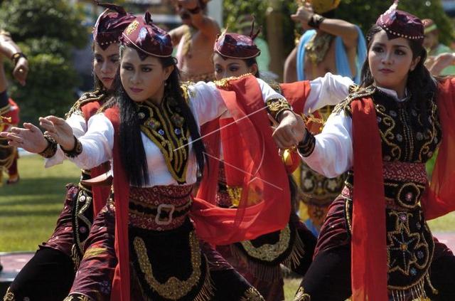 Gerakan Tari Remo, Lambang Pangeran Gagah Berani (39976)