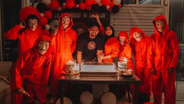 8 Momen Kejutan Ulang Tahun Ke-28 Ammar Zoni, Ada Drama Penculikan (20240)