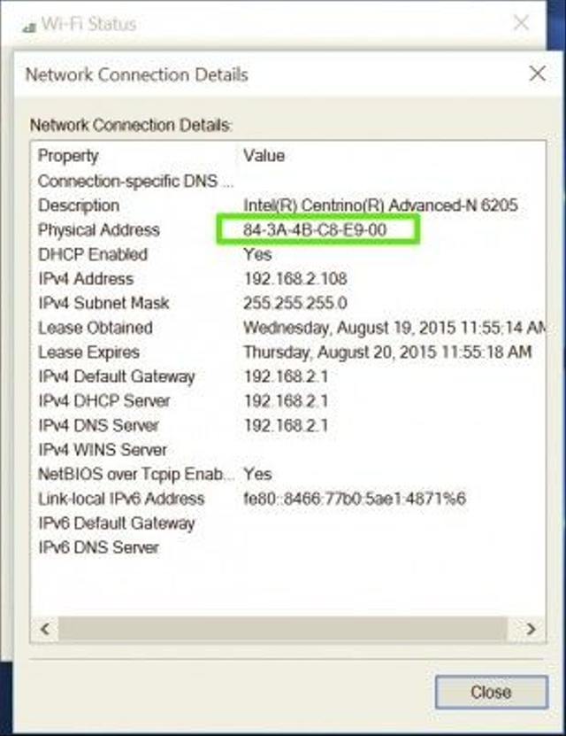 Cek MAC Address Cepat dan Mudah (29829)