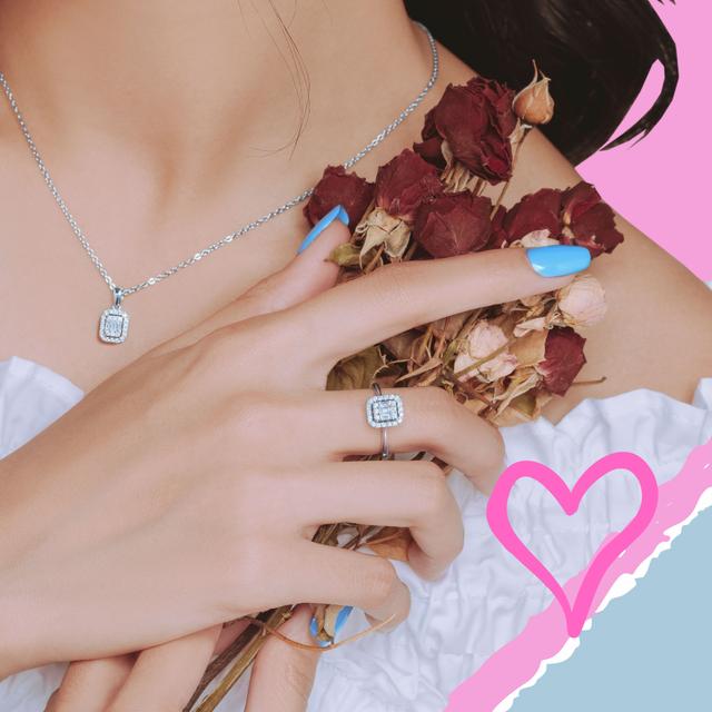 Perhiasan Berlian Eclat dari Miss Mondial yang Cocok untuk Seserahan Pernikahan (31045)